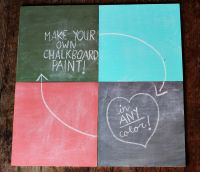 Tag  make your own chalkboard paint Archives ...