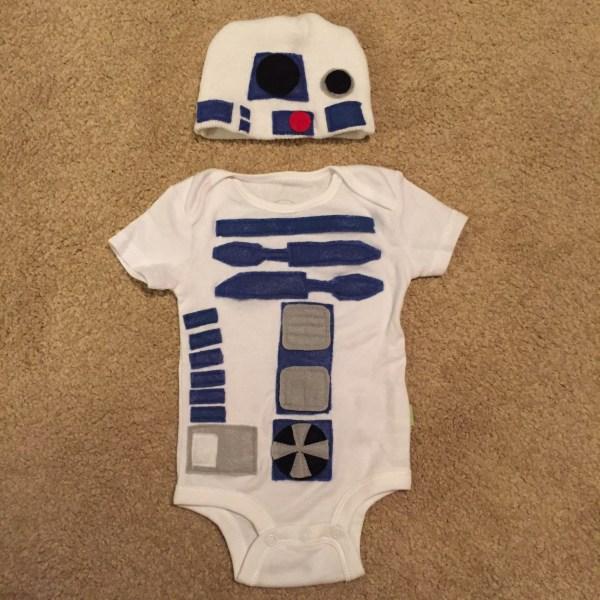 R2D2 Baby Onesie
