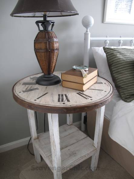 Clock Table - Scavenger Chic