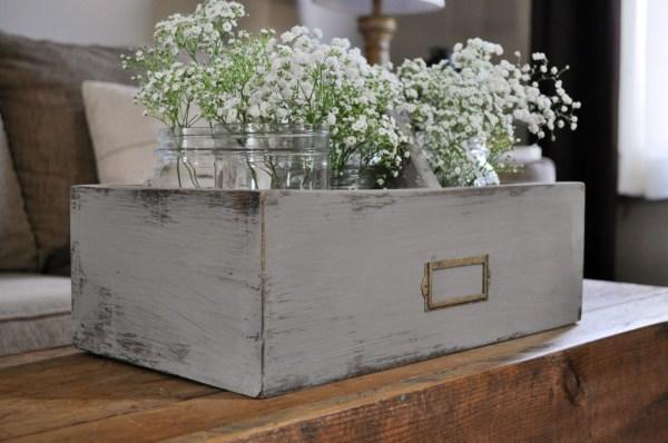 Flower Caddy - Little Glass Jar