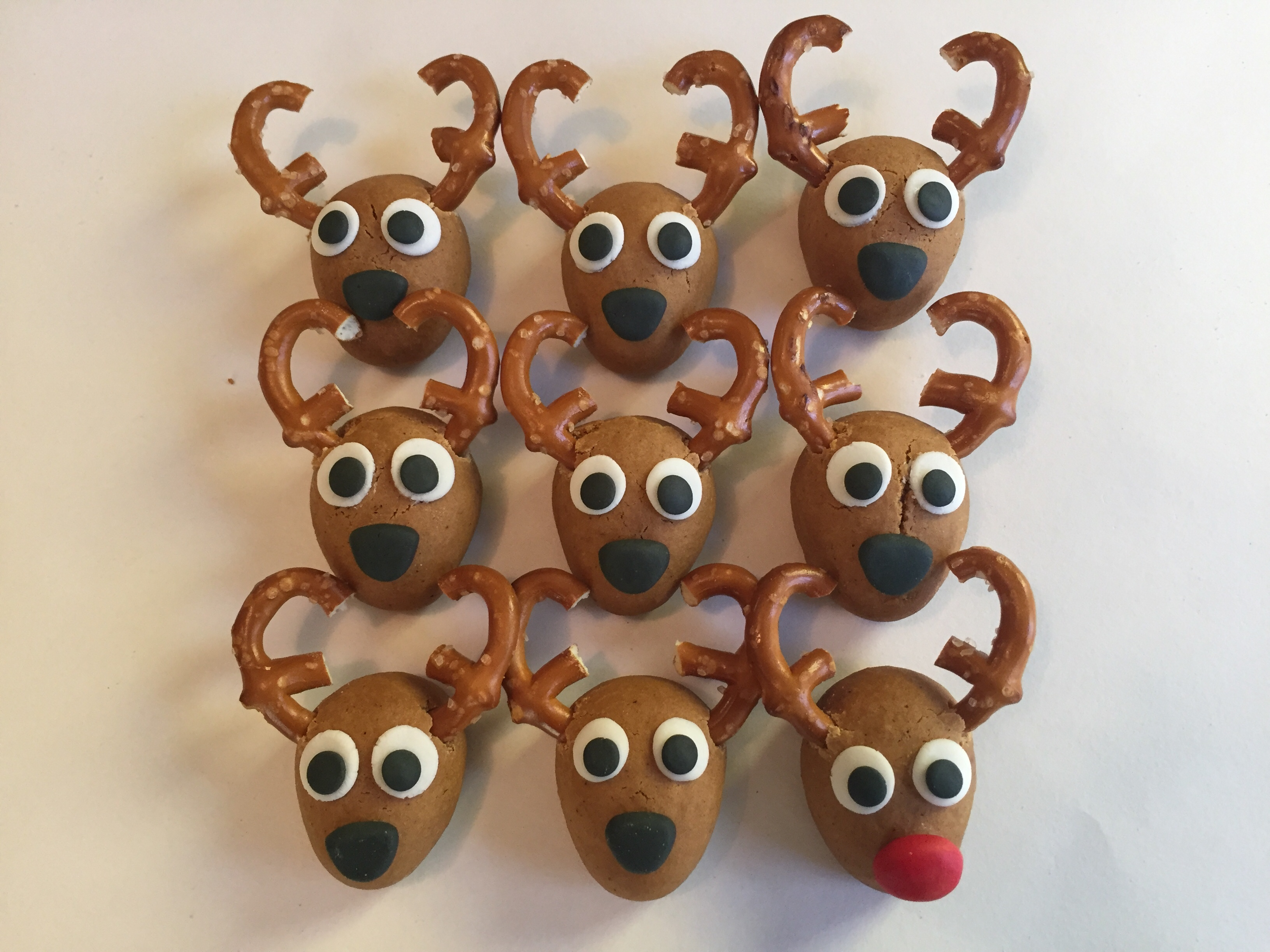 Gingerbread Reindeer The Craft Crib