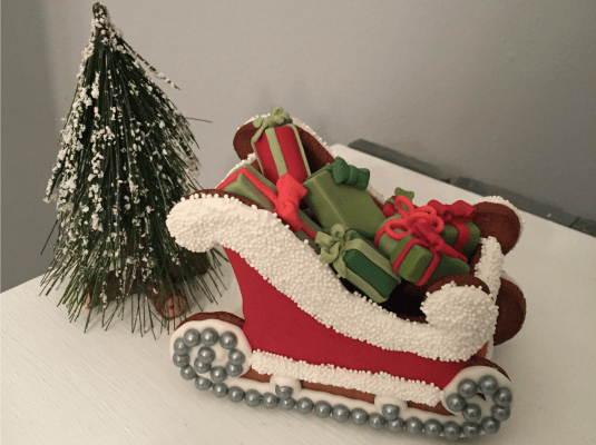 Finished Sleigh