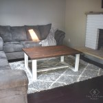 Diy Modern Farmhouse Coffee Table The Crafted Maker