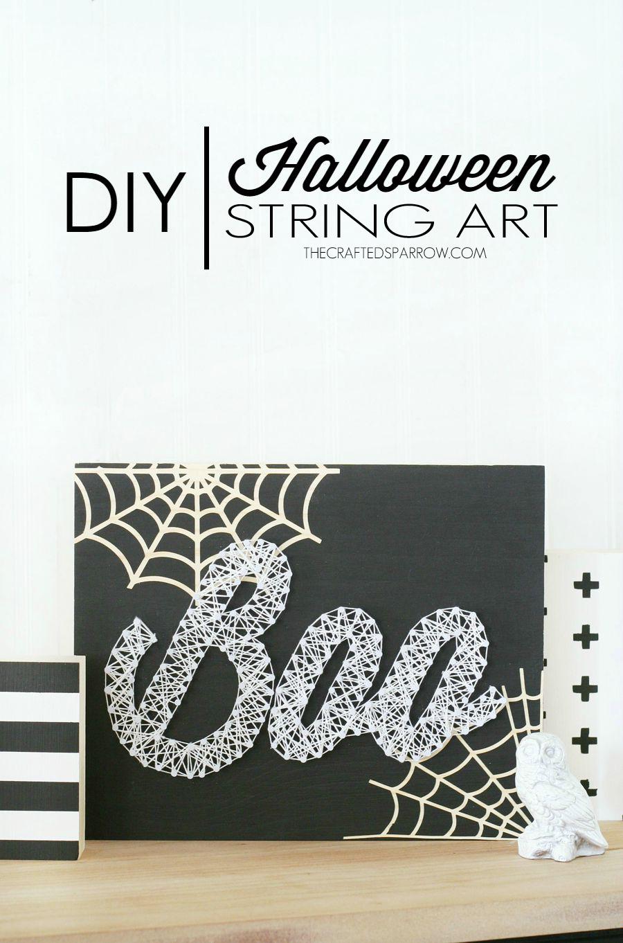 Halloween String Art : halloween, string, Halloween, String