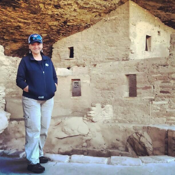 Jane at Mesa Verde