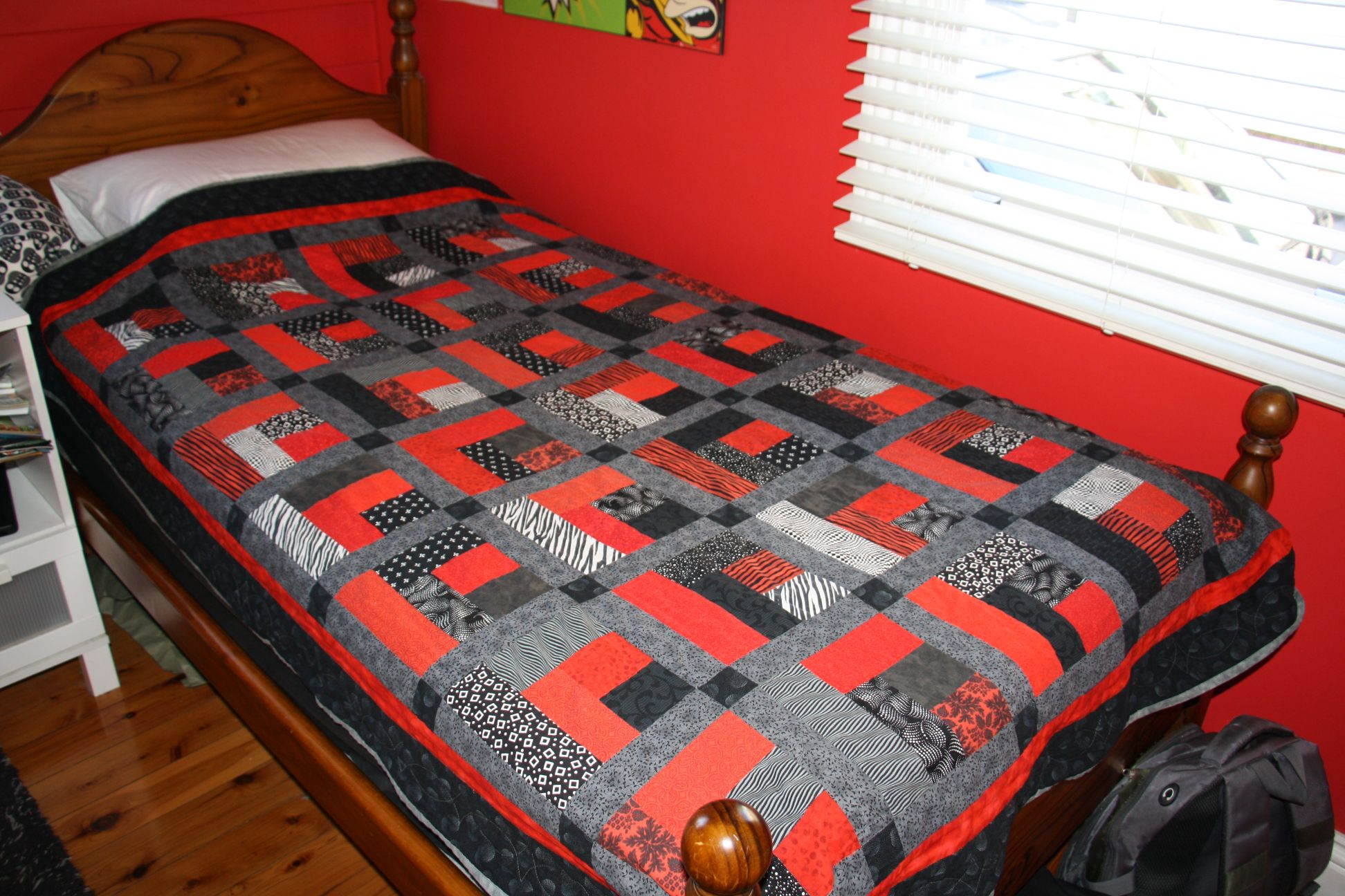 a teenage boy quilt the crafter s
