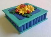 Floral Coin Case