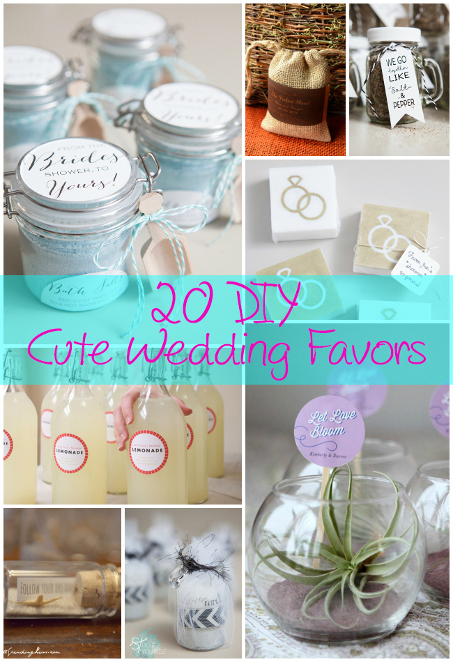 Want To Save Some Money When Planning Your Wedding Worried About Make It Yourself Favors From Other Companies