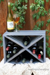 Best Collection from DIY Ideas: 15 Amazing DIY Wine Rack Ideas