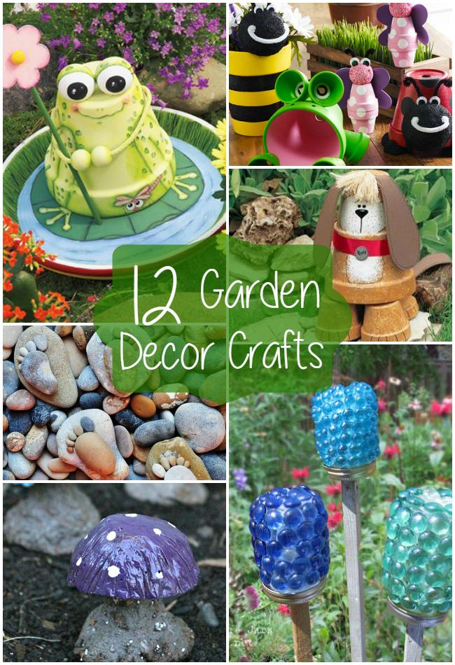 Craft Ideas For Garden Decorations Elitflat
