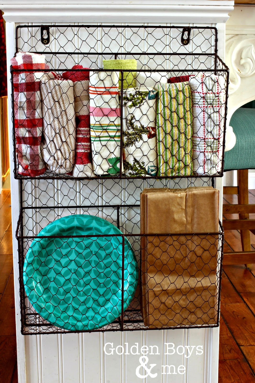 kitchen basket storage coffee themed rugs 15 organization ideas the craftiest couple