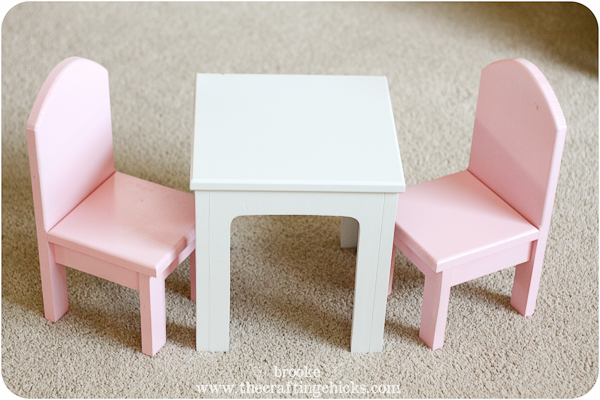 18 doll table and chairs chair a half ottoman the i