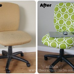 Desk Chair Diy Comfortable Reading Small Space Office Facelift