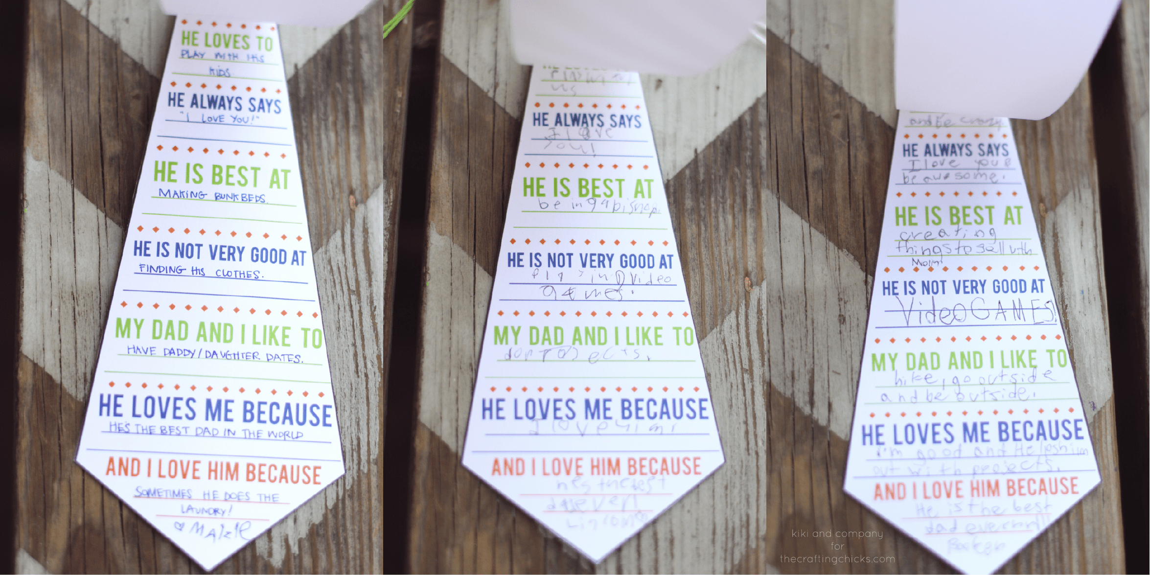 Daddy Ties A Father S Day Printable Card