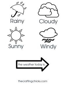 Sm weather chart also kid craft the crafting chicks rh thecraftingchicks