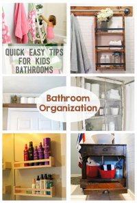 Bathroom Organization - The Crafting Chicks