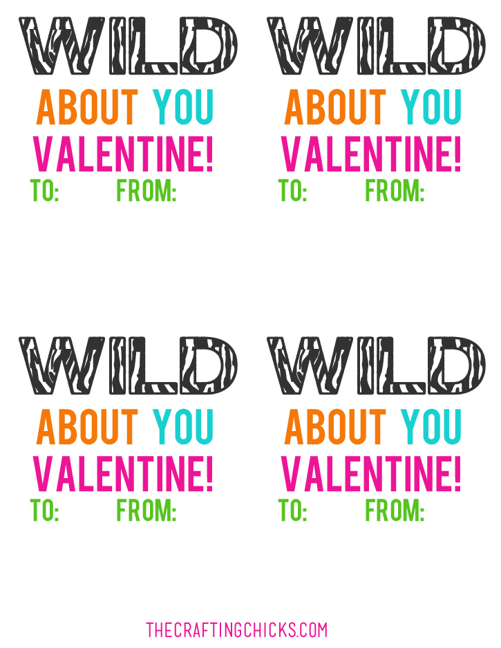 Im Wild About You Slap Bracelet Valentines The Crafting