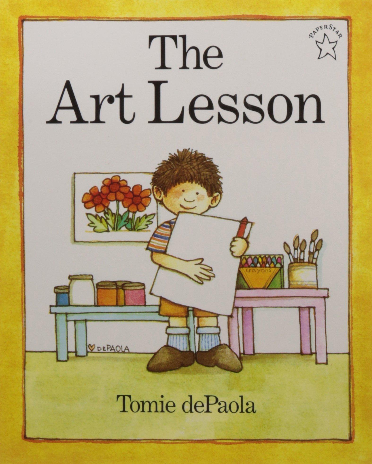 Exploring Art Books For Kids