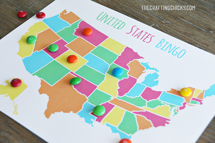 Us state by outline & flag ii 8. Us Map Game Free Printable Us State Map Skip To My Lou