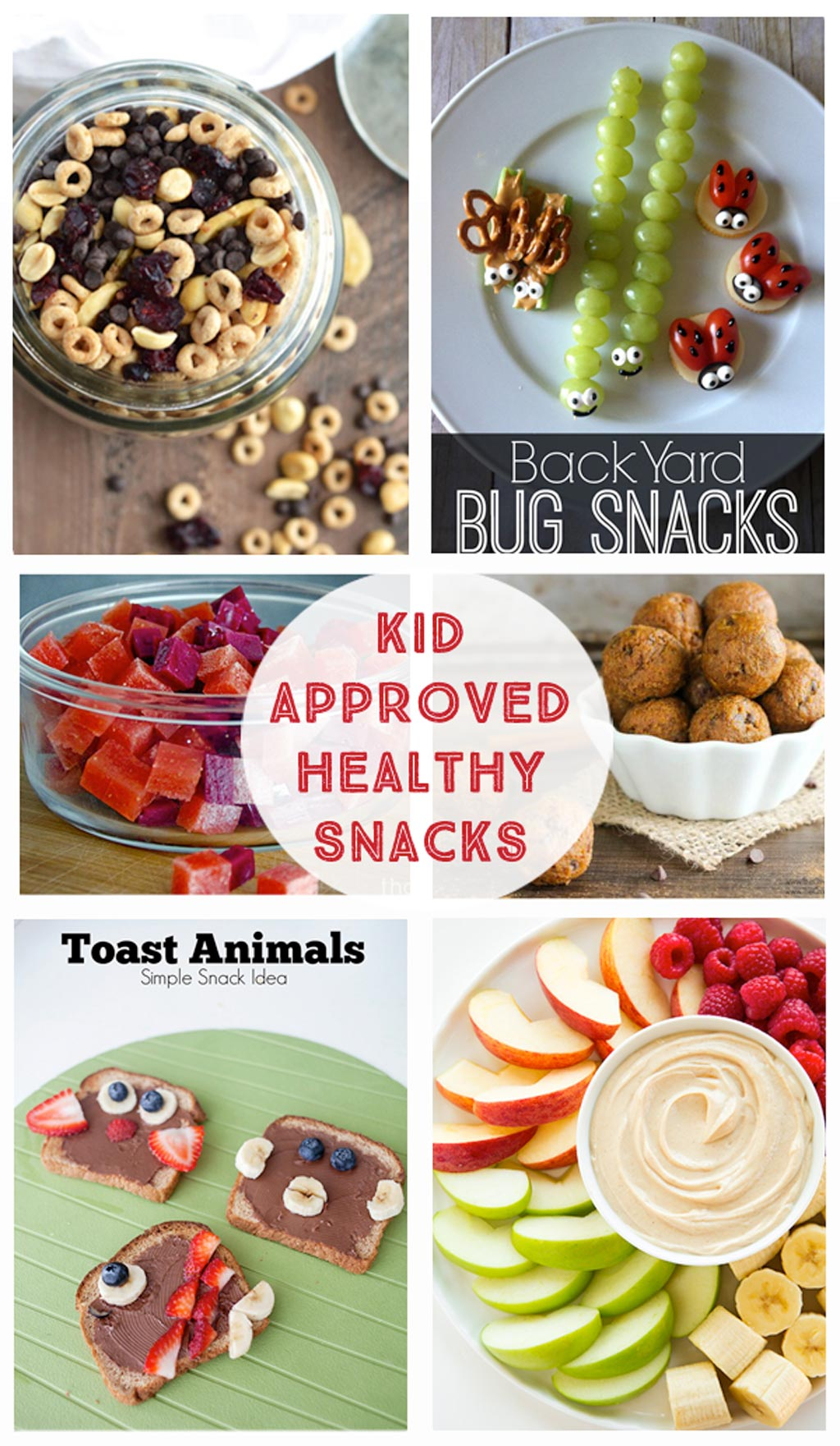Kid Approved Healthy Snacks