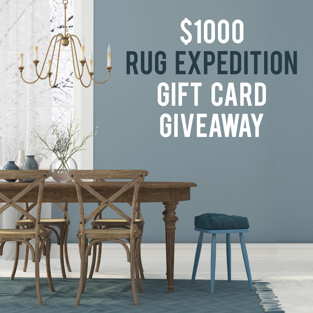 Rug Expedition $1000 Rug Giveaway