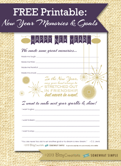 New Years Printables The Crafting Chicks