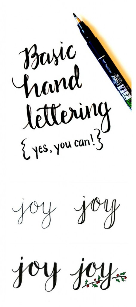 Hand Lettering Tutorials, Tips, Tricks, Tools and Printables