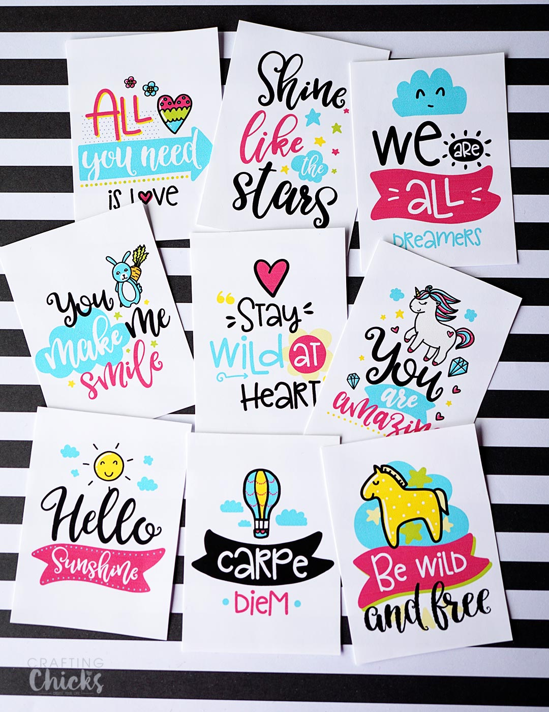 Random Acts Printable Kindness Cards