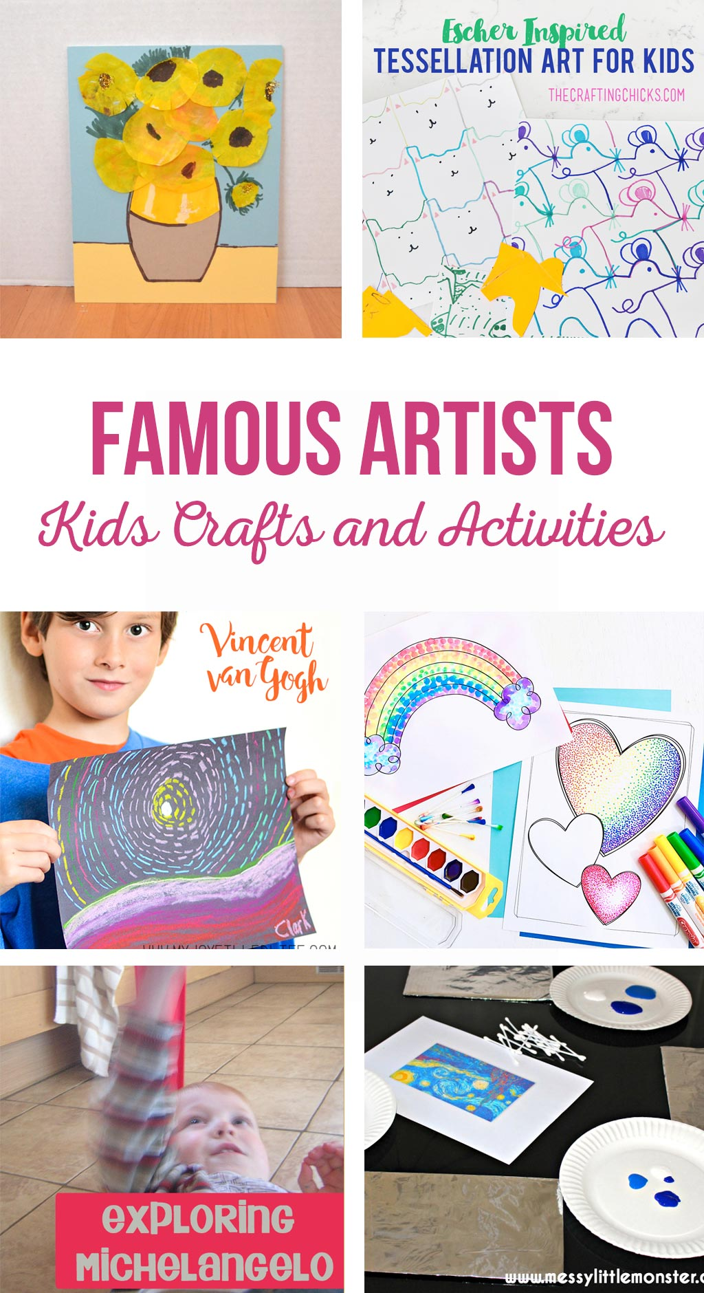 Famous Artists Kids Crafts And Activities