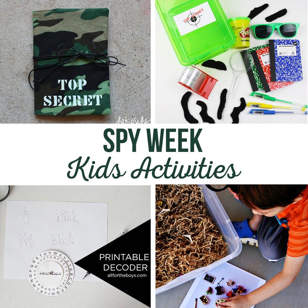 Spy Kids Activities