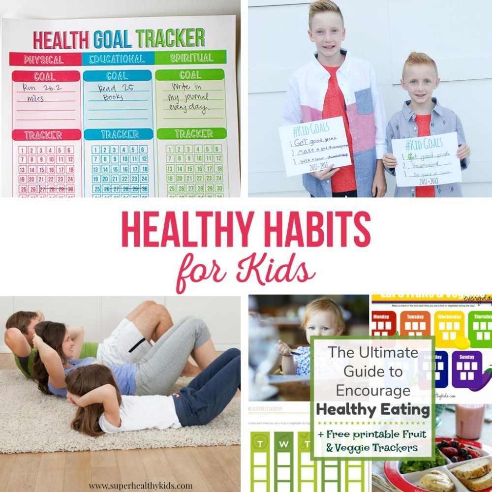 medium resolution of Healthy Habits for Kids - The Crafting Chicks