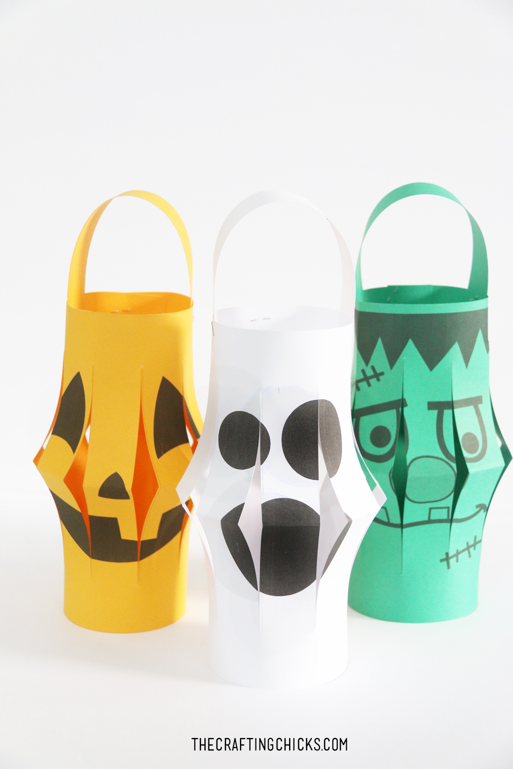 Halloween Paper Lantern Printables