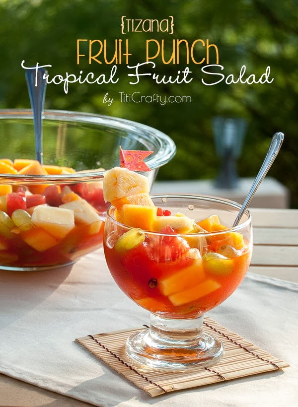 Tizana. Fruit Punch Tropical Fruit Salad Recipe #tizana #fruitsaladrecipe