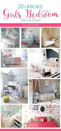 20+ More Girls Bedroom Decor Ideas | The Crafting Nook