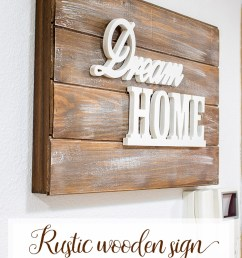 rustic wooden sign fusebox cover how to the crafting nook [ 750 x 1125 Pixel ]
