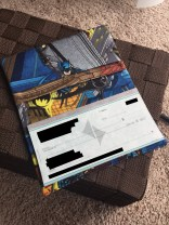 Batman Inside Checkbook