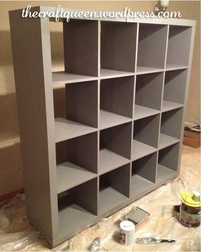 42. Before and After: IKEA Expedit Hack (5/6)