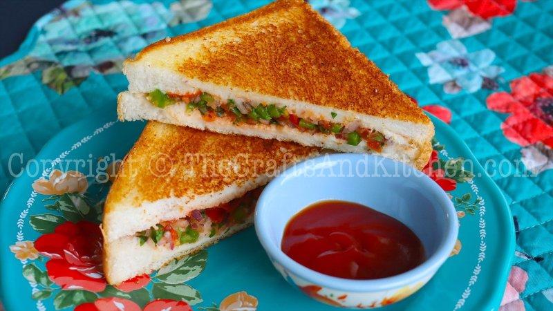 Tasty 10 minute sandwich