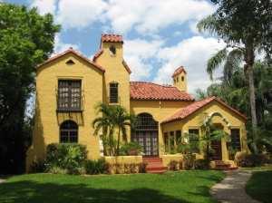 Spanish Mediterranean Style Homes Florida