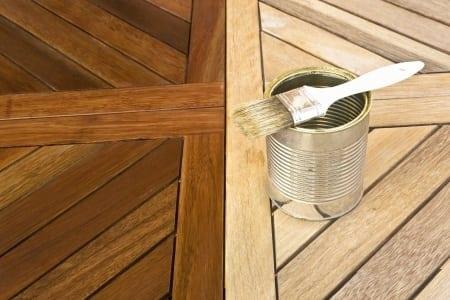 Matte Polyurethane Wood Finish