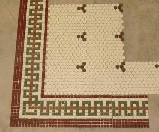 mosaic tile border the craftsman blog