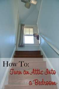 How To: Turn an Attic Into a Bedroom   The Craftsman Blog