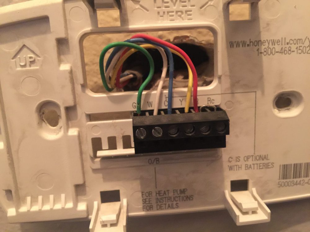 medium resolution of how to change thermostat