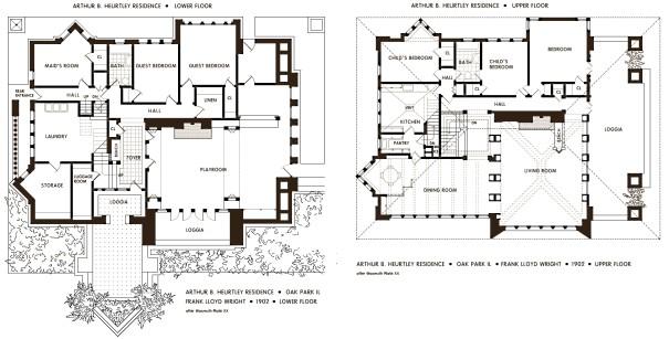Frank Lloyd Wright's Oak Park, Illinois Designs: The