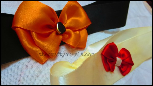 ribbon bow tutorial 1
