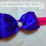 Cute Layered Ribbon Bows Tutorial  #12