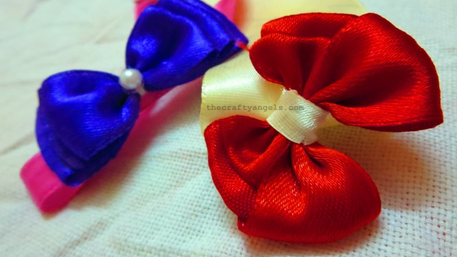 easy ribbon bows tutorial 13