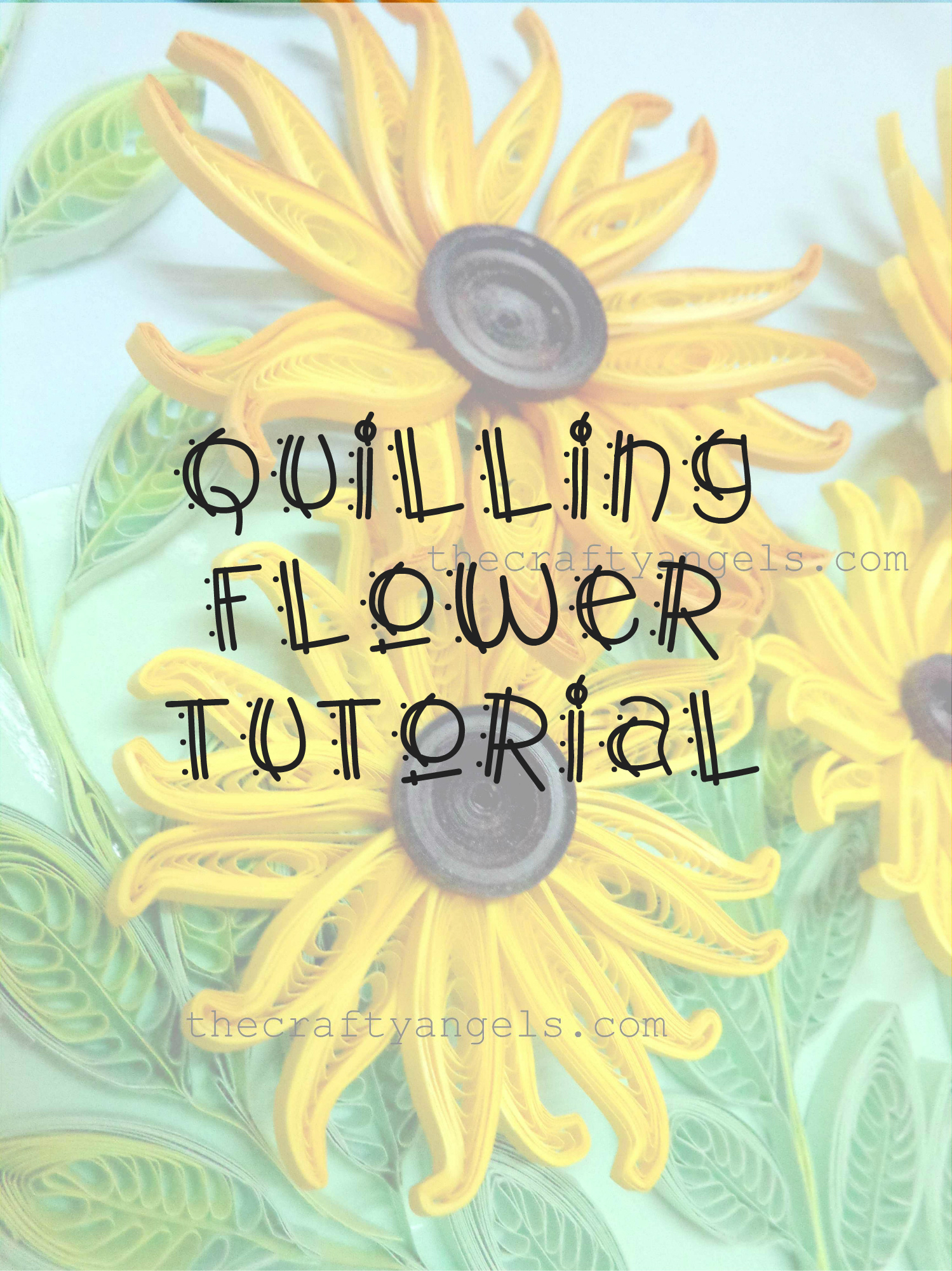 Quilling Technique Tutorial How To Make Quilled Flower Petals