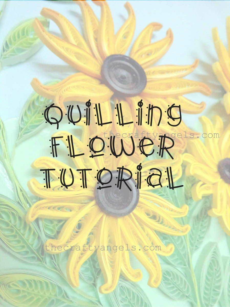 Quilling Technique Tutorial : How to make Quilled Flower Petals without tools #14