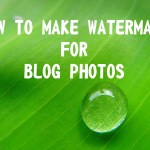 How to Make watermark for blog photos #16